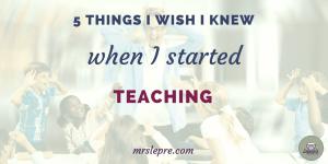 teacher tips | beginning teacher | first year teaching | first year teacher | how to prioritize