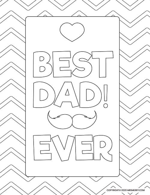 16 free printable Father's Day coloring pages - Print. Color. Fun! | 647x500
