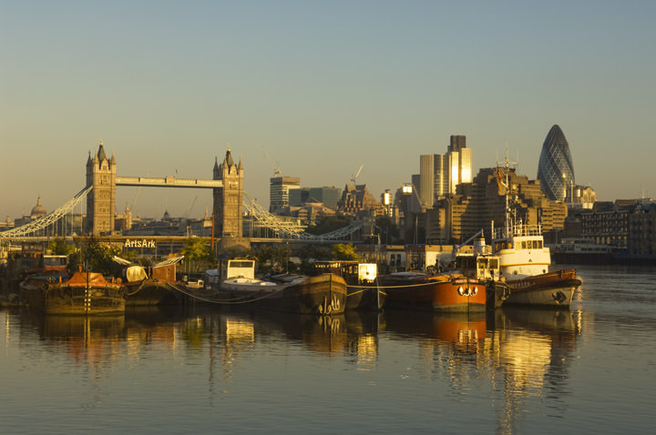 Photograph Of View From Bermondsey London Photos