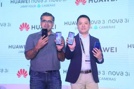 HUAWEI unveils the nova 3 & 3i in India