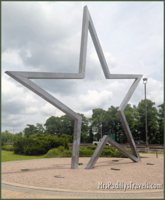 Texas Star located at Texas Welcome Center, Orange