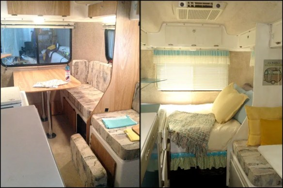 Mrs. Padilly's Casita Camper Glamping Makeover: Before & After Pictures