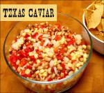 Bowl of Texas Caviar & Chips