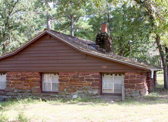 CCC Cabin #3 at Bastrop State Park