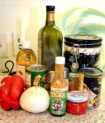 Texas Caviar Ingredients