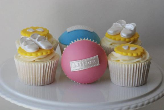 Cupcakes-Baby Shower