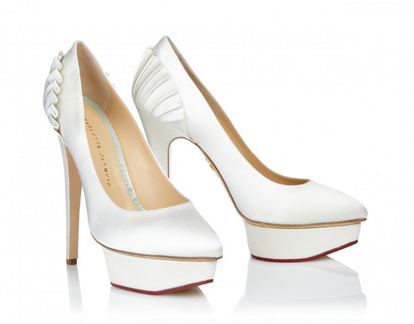 Wedding Shoes Making A Statement Runaway Bride Charlotte