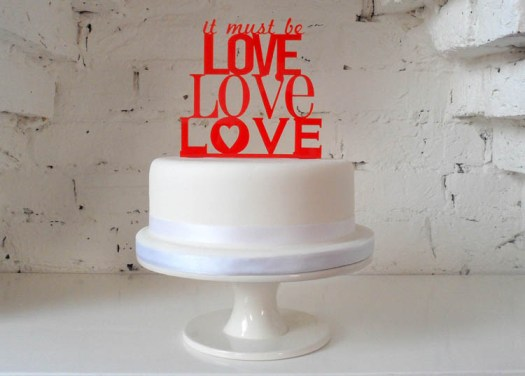 rubyanddiva.com-It-must-be-love-Cake-Topper-Red-£16.99[1]