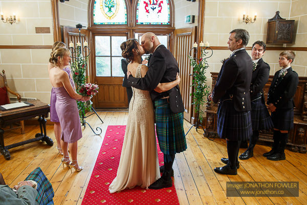 Dalhousie Castle wedding photos by Edinburgh wedding photographer-1025