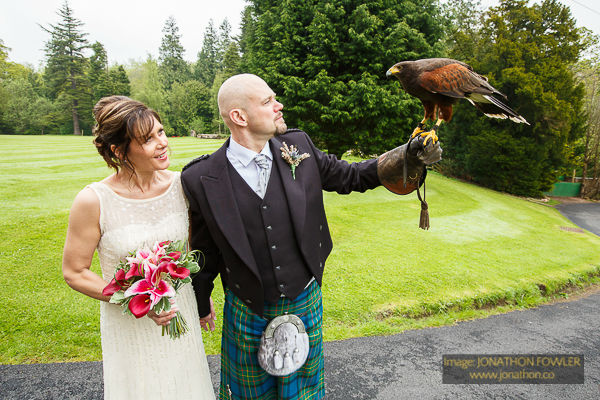 Dalhousie Castle wedding photos by Edinburgh wedding photographer-1040