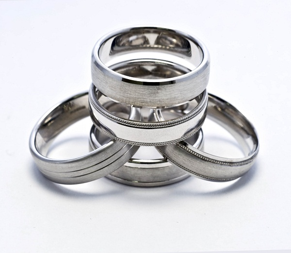 Selection of patterned wedding band