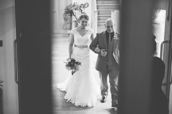 key reflections photography, bride and her dad
