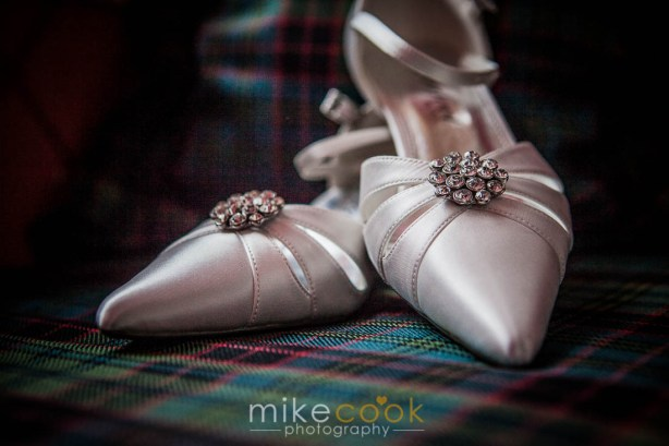 bridal shoes, mike cook photography
