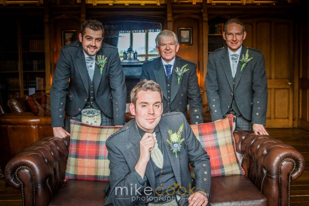 groom and groomsmen, mike cook photography