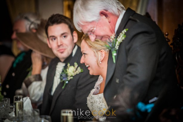 mike cook photography, dalhousie castle, father of the bride speech