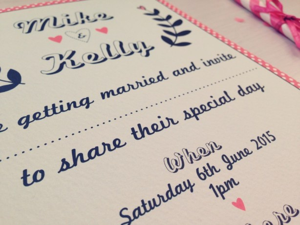 INVITATION 4 - The Strawberry Shake Collection, Best Day Ever, Wedding Sationery