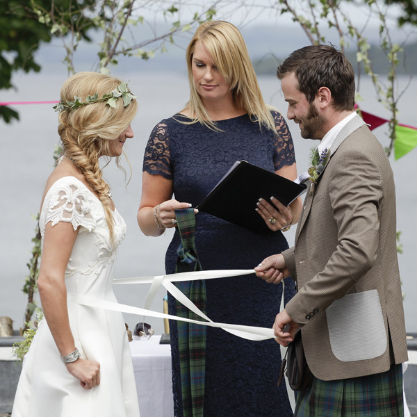 handfasting, outdoor ceremony, the cruin, loch lomond, silver photography