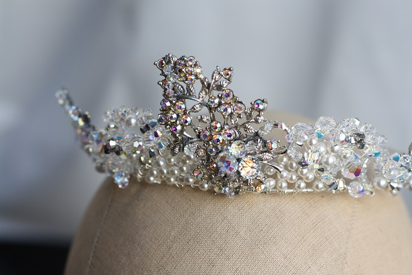 Samantha Walden,  Isobel tiara, Historically inspired headdresses, vintage tiara,  Historically inspired tiara