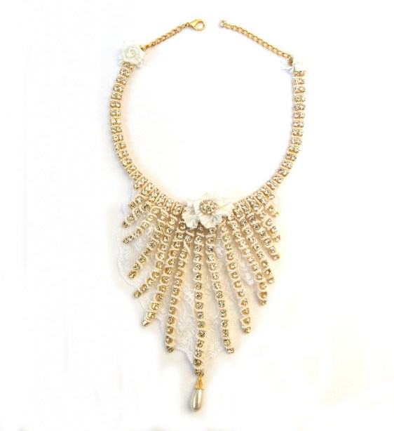 Zelia vintage necklace, moodswing couture london