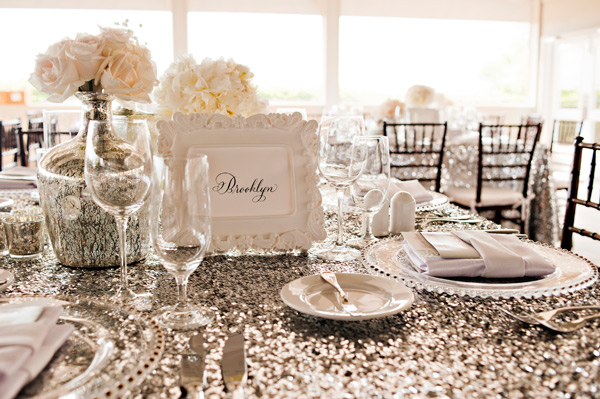 gilded linens, event linens, sequin tablecloth, pinterest designs, MrsPandP's Sunday Morning Cuppa, Wedding Blog Catch Up