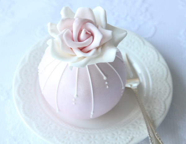rose temari cake, The Enchanting Cake Company, bespoke cakes