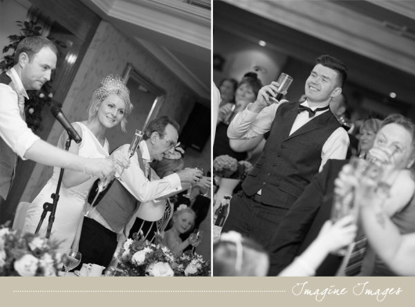 wedding speeches, imagine images, lochgreen house
