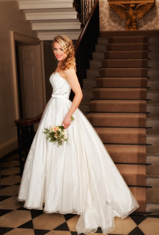 Olivia  - Love & Romance Collection - Qiana Bridal (side)