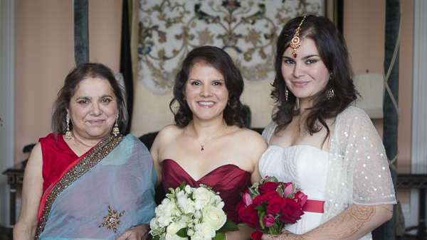 bride, mother of the bride, maid of honour, yvette craig photo