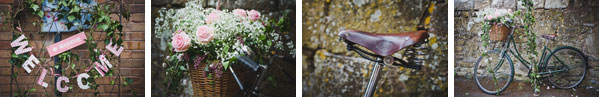 Cloud9-Wedding-Photography, flowers, bike, welcome sign