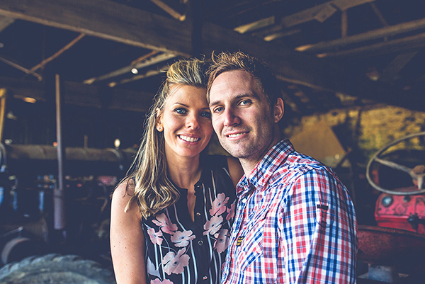 rustic engagement shoot, nick rutter photo, barn