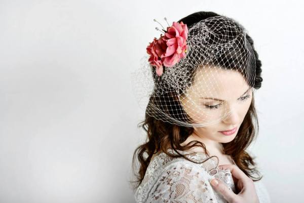 Lily bella 2014 Collection, florence hair flower