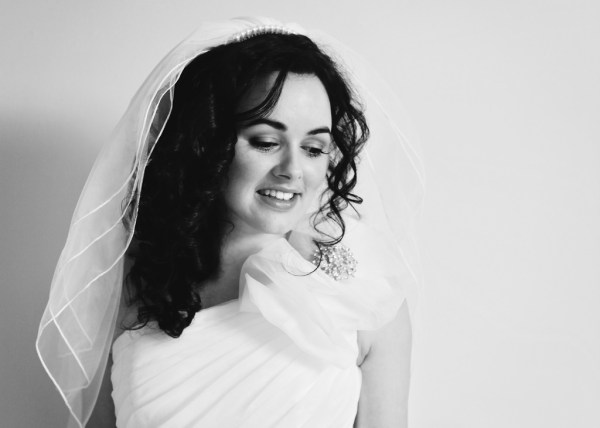 nicky cooney, bridal portrait