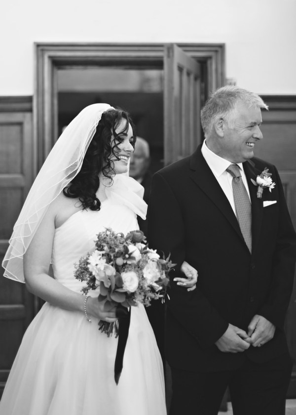 bride father of the bride, nicky cooney photo