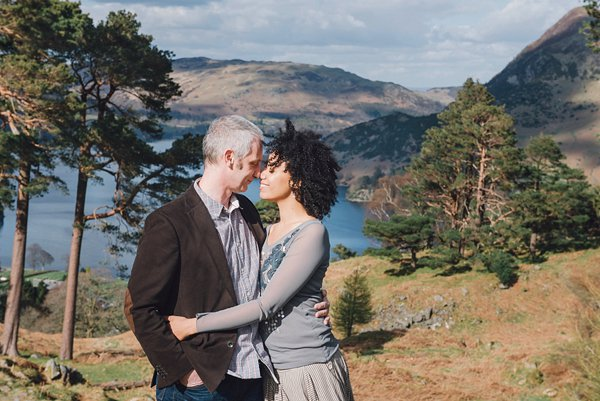 ullswater engagement shoot, julie anne images