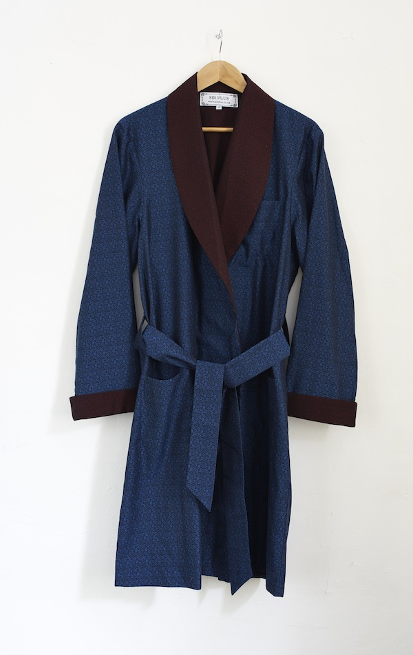 sir plus, dressing gown, luxury clothing