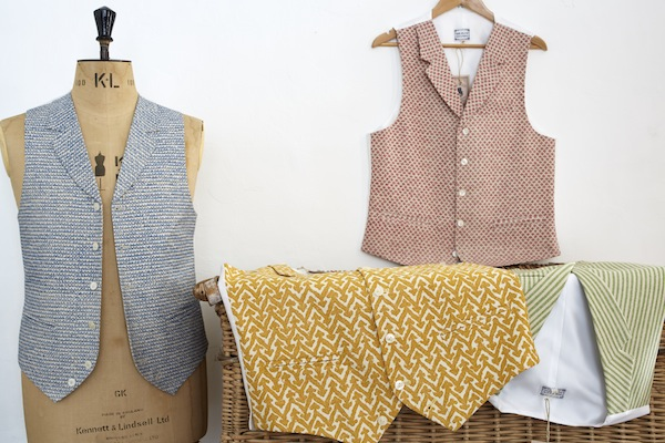 sir plus, patterned waistcoats, luxury clothing