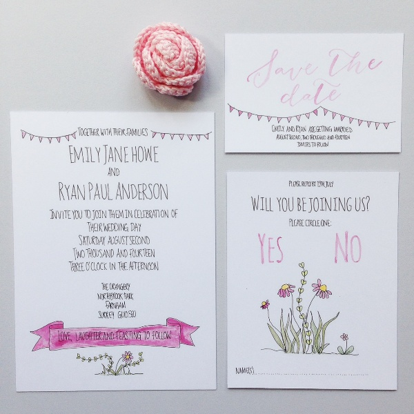 alfie winn designs, nature and typography inspired wedding stationery, wedding stationery, on the day wedding stationery, MrsPandPs Sunday Morning Cuppa, Wedding Blog Catch up, blog catch up, weekly blog review