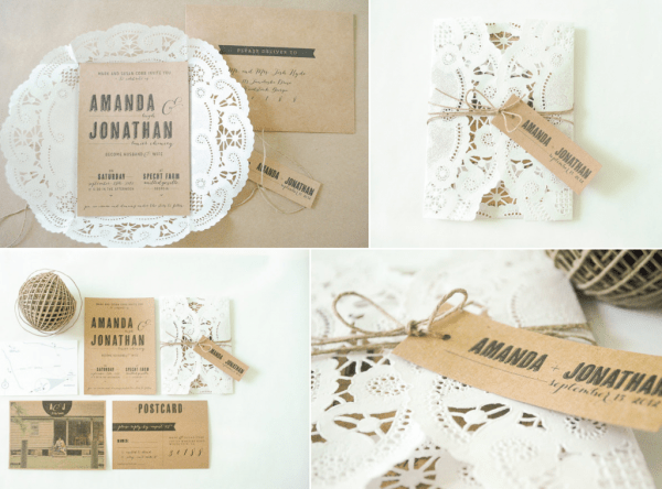 Rustic-Invitations, DIY