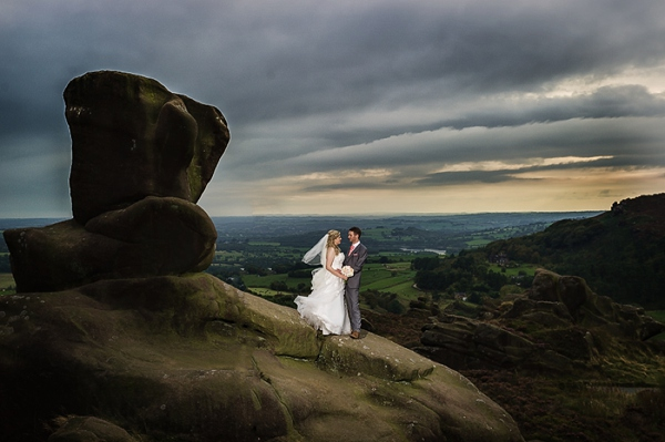 Cris lowis photography, peak district wedding