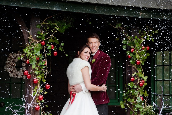 Let It Snow , venetia norrington, firetop photography, winter wedding, winter wedding styled shoot, deer park house - devon