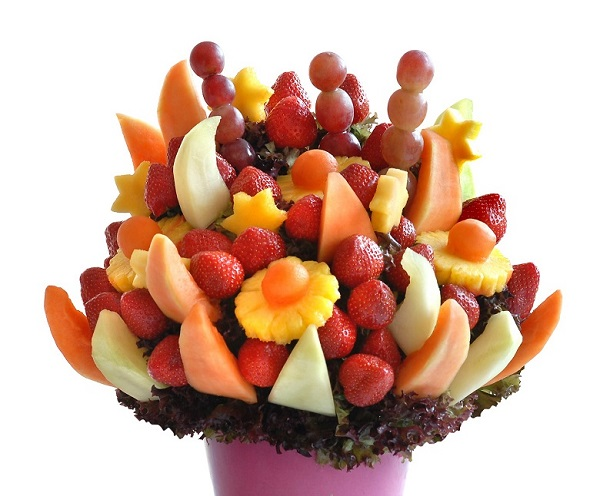 fruit bouquet, Fruit Carvings, Fruit Palm Trees, Chocolate Strawberry Towers, Edible Fruit Bouquets, Strawberry Bouquets, Bride & Groom Gifts fruits carvings scotland, fruit displays scotland, fruit displays glasgow, fruit carvings glasgow