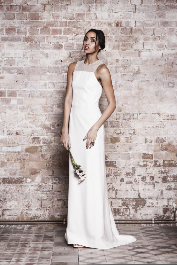 cecile dress, muscat london bridal , Terry seah photography, contemporary wedding dress