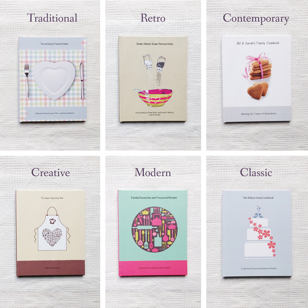six designs , Recipe Giftbook, alternative Wedding Gift, wedding gift, uk wedding blog, family recipe