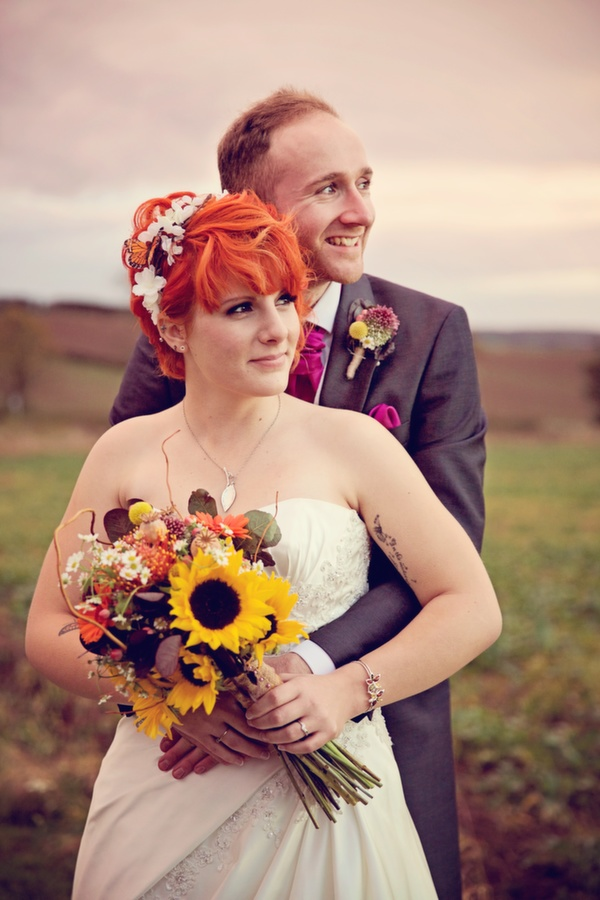 woodland inspired wedding, autumn wedding, alfred angelo gown, lucy lou photography