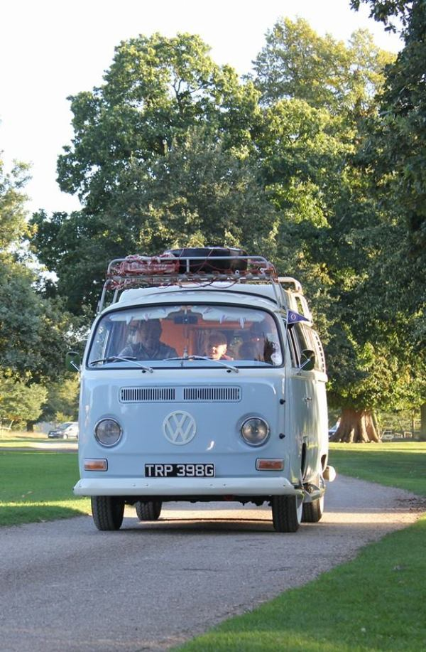 blogging bride, giddy kipper, wedding suppliers, campervan