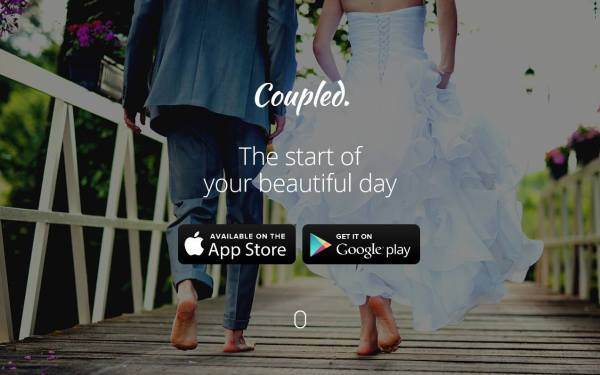 coupled screenshot, Coupled app, community marketplace, wedding photos, wedding suppliers, iOS download, Android download
