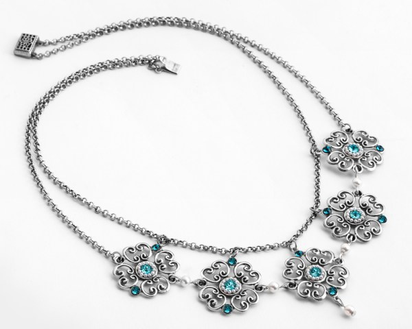 Flora-necklace, alin-Yerushalmi, bridal-jewellery, bridal-accessories