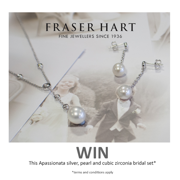 Mrspandp Competition, Fraser Hart, Bridal Jewellery, Giveaway, pearl necklace, pearl earrings, Apassionatta brand