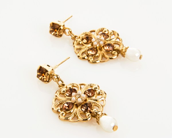 francis-earrings, alin-yerushalmi, bridal-jewellery, bridal-accessories