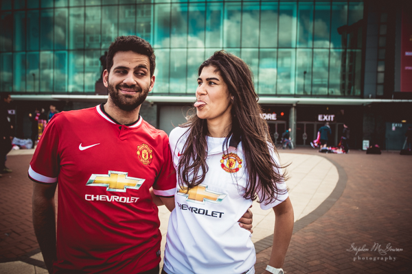stephen-mcgowan-photography, old-trafford-engagement-shoot, football-inspired-engagement-shoot , manchester united